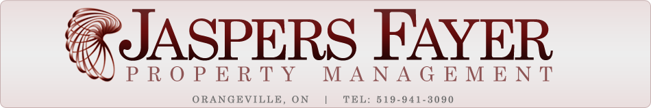 Orangeville Property Management - Jaspers Fayer Property Management Logo
